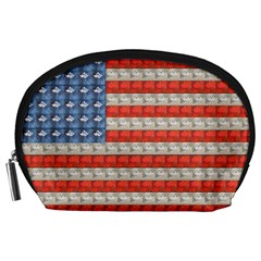 Geometricus Usa Flag Accessory Pouches (large)