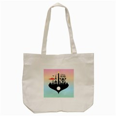 Future City Tote Bag (cream)