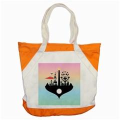 Future City Accent Tote Bag