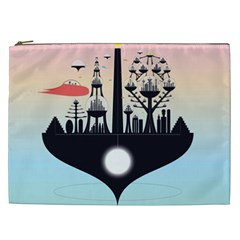 Future City Cosmetic Bag (xxl)