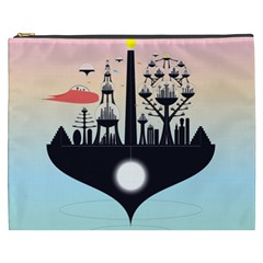 Future City Cosmetic Bag (xxxl)