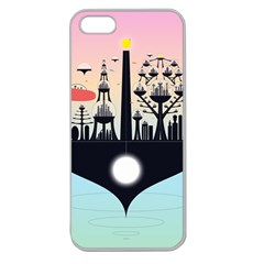 Future City Apple Seamless Iphone 5 Case (clear)
