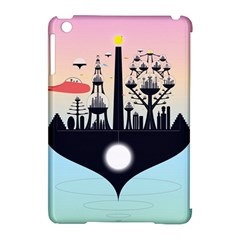 Future City Apple Ipad Mini Hardshell Case (compatible With Smart Cover)