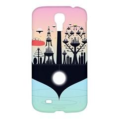 Future City Samsung Galaxy S4 I9500/i9505 Hardshell Case