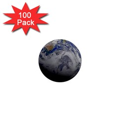 A Sky View Of Earth 1  Mini Magnets (100 Pack)