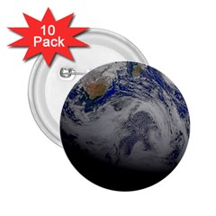 A Sky View Of Earth 2 25  Buttons (10 Pack)