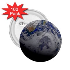 A Sky View Of Earth 2 25  Buttons (100 Pack)