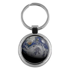 A Sky View Of Earth Key Chains (round)