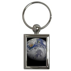 A Sky View Of Earth Key Chains (rectangle)
