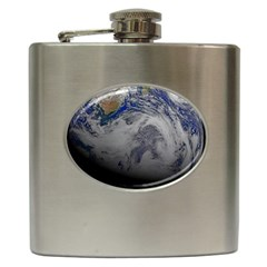 A Sky View Of Earth Hip Flask (6 Oz)