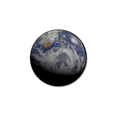 A Sky View Of Earth Golf Ball Marker