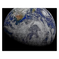 A Sky View Of Earth Rectangular Jigsaw Puzzl