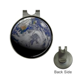 A Sky View Of Earth Hat Clips With Golf Markers