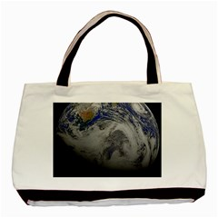 A Sky View Of Earth Basic Tote Bag