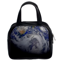 A Sky View Of Earth Classic Handbags (2 Sides)