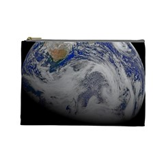A Sky View Of Earth Cosmetic Bag (large)
