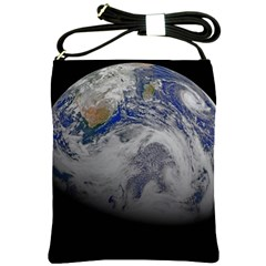 A Sky View Of Earth Shoulder Sling Bags