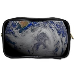 A Sky View Of Earth Toiletries Bags