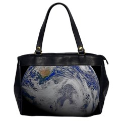 A Sky View Of Earth Office Handbags (2 Sides)