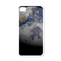 A Sky View Of Earth Apple Iphone 4 Case (white)