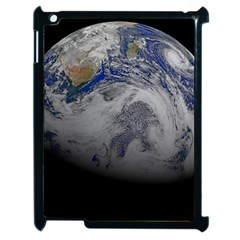 A Sky View Of Earth Apple Ipad 2 Case (black)
