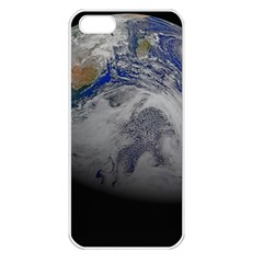 A Sky View Of Earth Apple Iphone 5 Seamless Case (white)