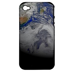 A Sky View Of Earth Apple Iphone 4/4s Hardshell Case (pc+silicone)