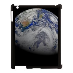 A Sky View Of Earth Apple Ipad 3/4 Case (black)