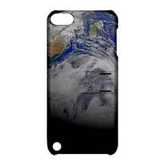 A Sky View Of Earth Apple Ipod Touch 5 Hardshell Case With Stand