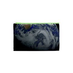 A Sky View Of Earth Cosmetic Bag (xs)