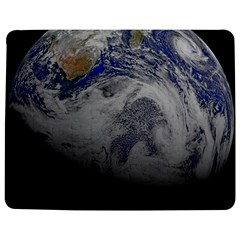 A Sky View Of Earth Jigsaw Puzzle Photo Stand (rectangular)
