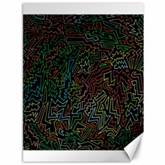 Zigs And Zags Canvas 36  X 48
