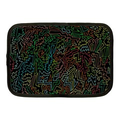 Zigs And Zags Netbook Case (medium)