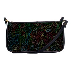 Zigs And Zags Shoulder Clutch Bags