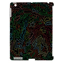 Zigs And Zags Apple Ipad 3/4 Hardshell Case (compatible With Smart Cover)