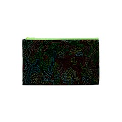Zigs And Zags Cosmetic Bag (xs)