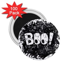 Monster Art Boo! Boo2 2 25  Magnets (100 Pack)