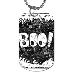 Monster Art Boo! Boo2 Dog Tag (two Sides)