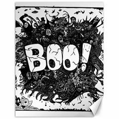 Monster Art Boo! Boo2 Canvas 12  X 16