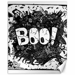 Monster Art Boo! Boo2 Canvas 16  X 20