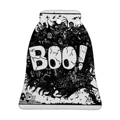 Monster Art Boo! Boo2 Bell Ornament (two Sides)