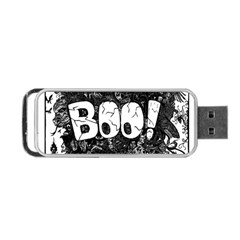 Monster Art Boo! Boo2 Portable Usb Flash (two Sides)