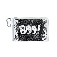 Monster Art Boo! Boo2 Canvas Cosmetic Bag (s)