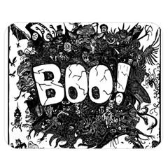 Monster Art Boo! Boo2 Double Sided Flano Blanket (medium)
