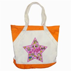 Pink Angel Star Accent Tote Bag