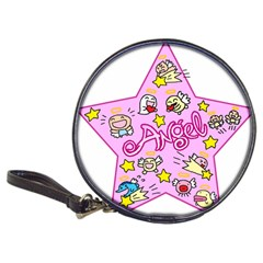 Pink Angel Star Classic 20 Cd Wallets