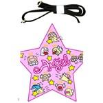 Pink Angel Star Shoulder Sling Bags Front
