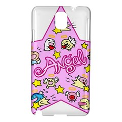 Pink Angel Star Samsung Galaxy Note 3 N9005 Hardshell Case
