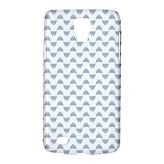 Wave Pattern White Grey Galaxy S4 Active