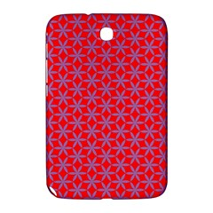 Flower Of Life Pattern Red Purle Samsung Galaxy Note 8 0 N5100 Hardshell Case